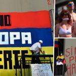 ประเทศโคลัมเบีย-ชุมนุมประท้วง